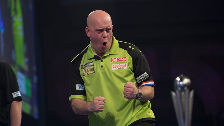 Van Gerwen has never retained his World Championship title before