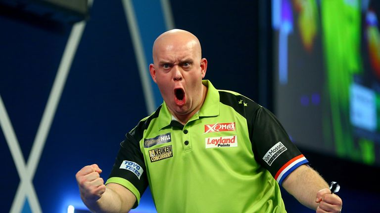 Michael van Gerwen won his third World Darts Championship title on New Year's Day