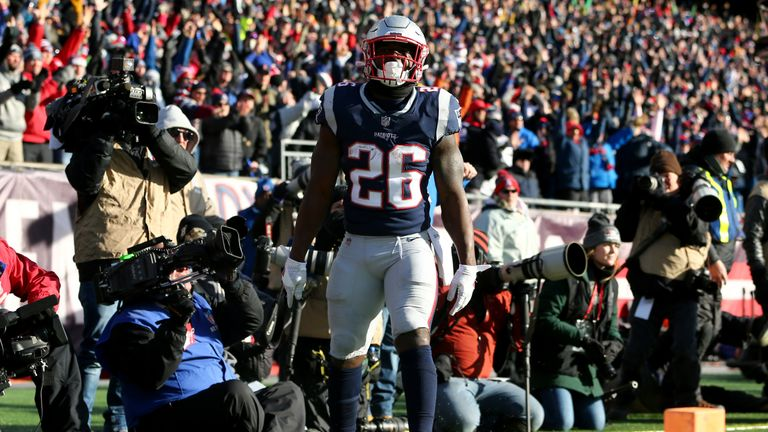 Sony Michel will need another big game if the Patriots are to reach the Super Bowl