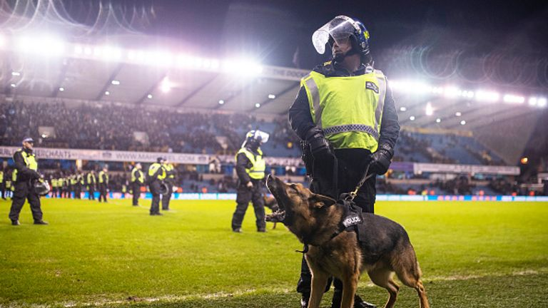 Millwall v Everton: Police say violence was 'worst seen for some time'