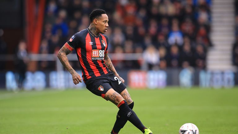 Nathaniel Clyne impressed on his Bournemouth debut in their 3-1 FA Cup defeat to Brighton