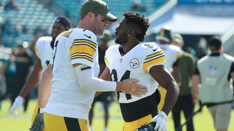 6fe0c18df Ben Roethlisberger says all is well between himself and Antonio Brown