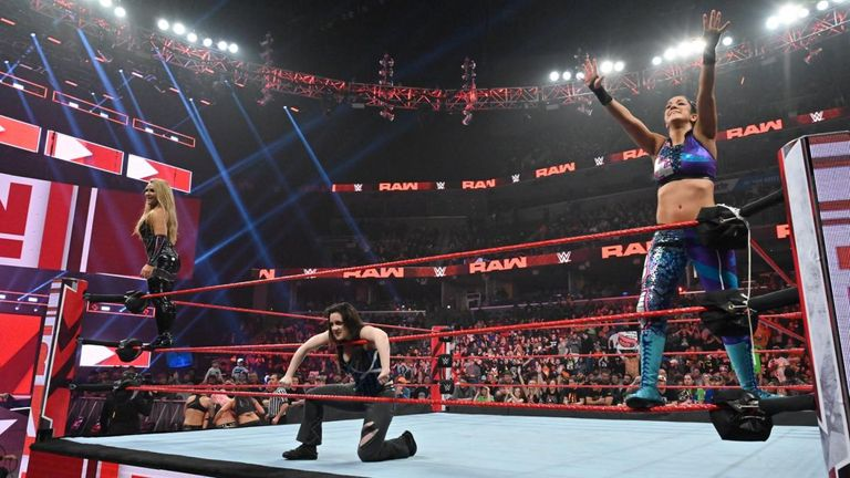 Nikki Cross made her Raw debut alongside Natalya and Bayley in a tag match against the Riott Squad