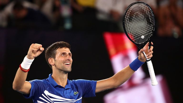 Djokovic has won all six of his previous Australian Open finals
