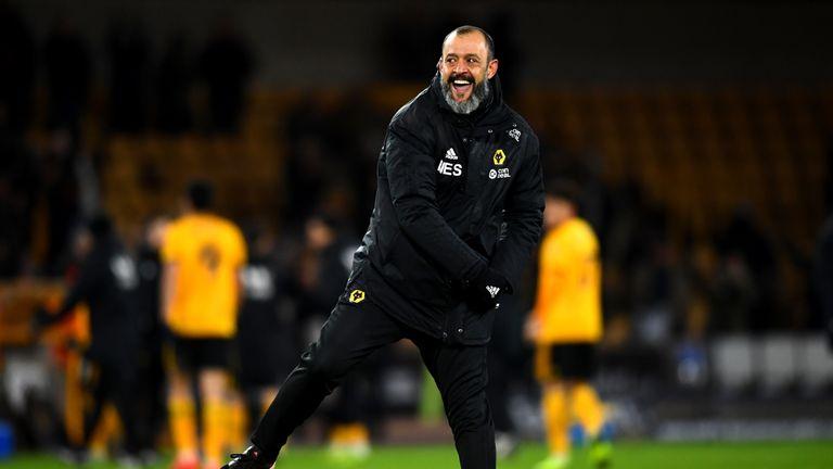 Nuno Espirito Santo has enjoyed a great opening Premier League season with Wolves