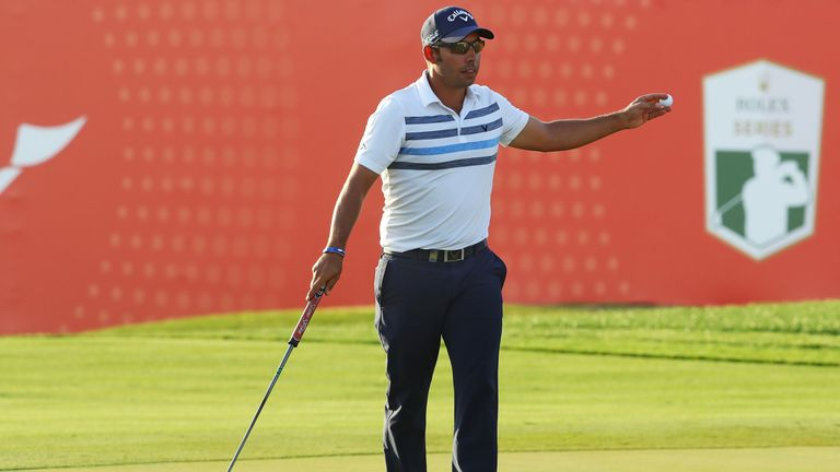 Larrazabal finished eagle, birdie, birdie to card a 65