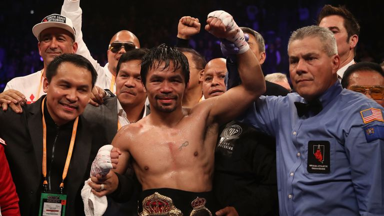 Manny Pacquiao is a potential future opponent for Spence Jr.