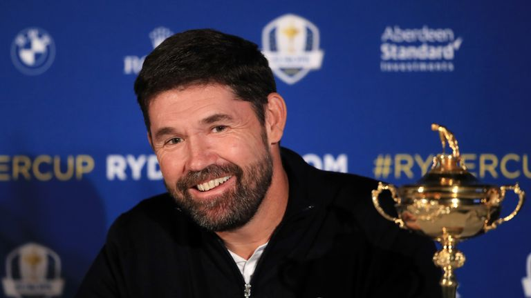 Harrington will lead Europe at Whistling Straits next year