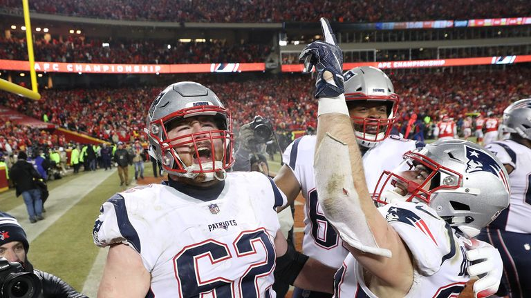 Take a look at how New England Patriots made it to Super Bowl LIII, where they will face the Los Angeles Rams.