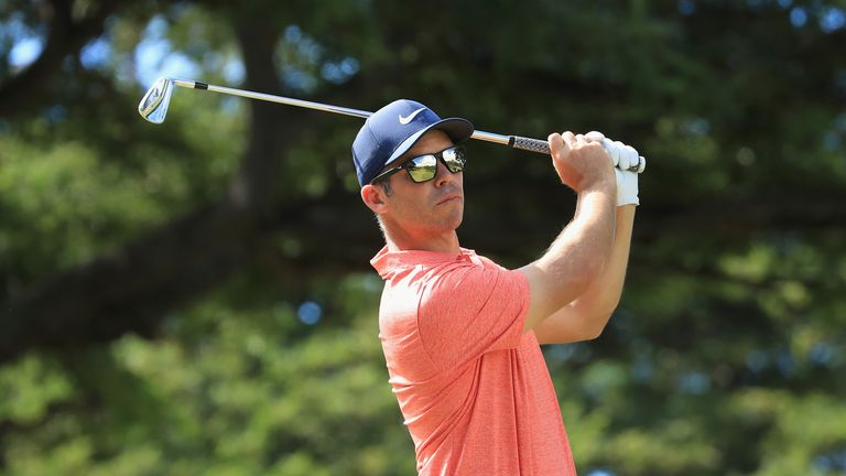 Paul Casey is in contention in Singapore