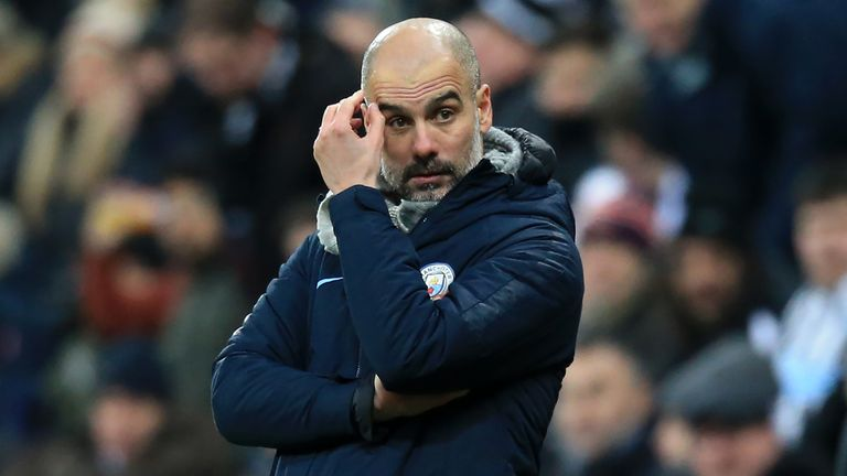 Guardiola won the Carabao Cup and Premier League last season after a trophyless first campaign in charge