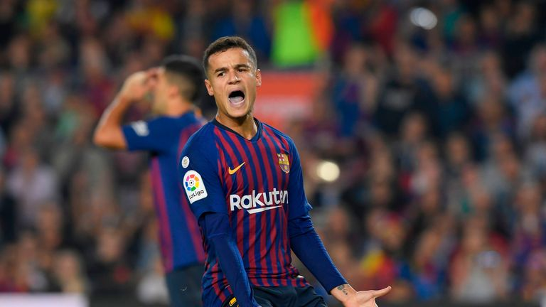 Coutinho has only scored nine goal in 40 games this season