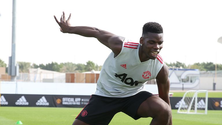 Paul Pogba could return for Manchester United at Tottenham on Sunday