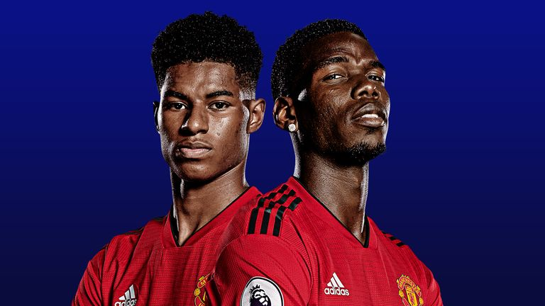 Image result for rashford with pogba