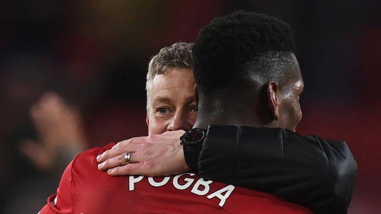 Man Utd have won all seven of their games under Ole Gunnar Solskjaer