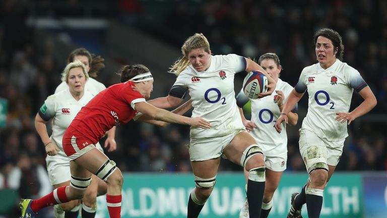 Poppy Cleal brings plenty of aggression for England