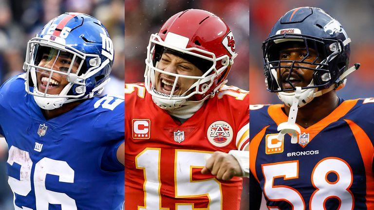 85cd3079 Saquon Barkley, Patrick Mahomes and Von Miller will star in the 2019 Pro  Bowl