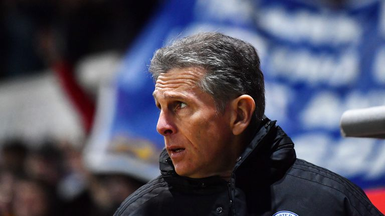 Claude Puel wants to see a reaction from his players