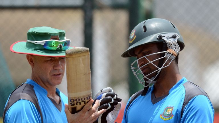 Richard Pybus quit as Bangladesh coach after five months in charge in 2012