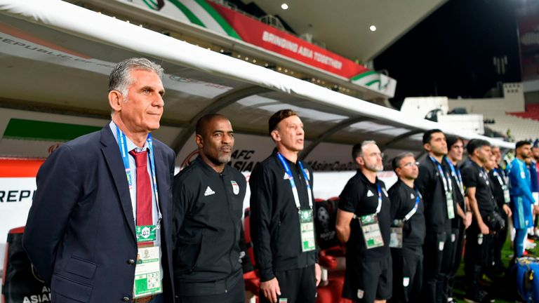 Queiroz's last win as head coach of Iran was a 3-0 win over China in the quarter-finals of the Asian Cup