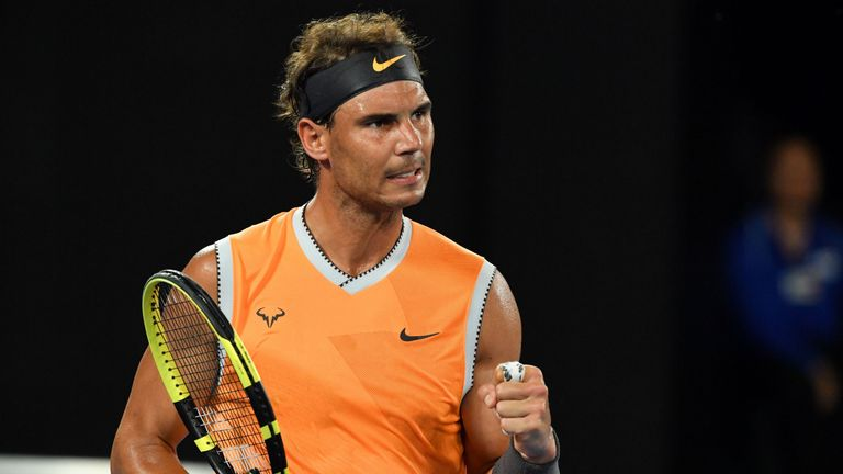 Rafael Nadal pummelled Matthew Ebden to progress