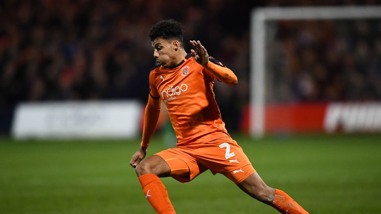 James Justin is a key player for Luton