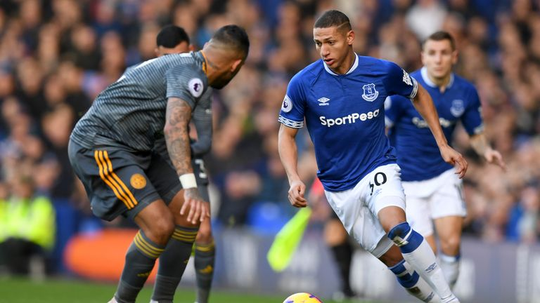 Graeme Souness does not think Richarlison is being played in the right position