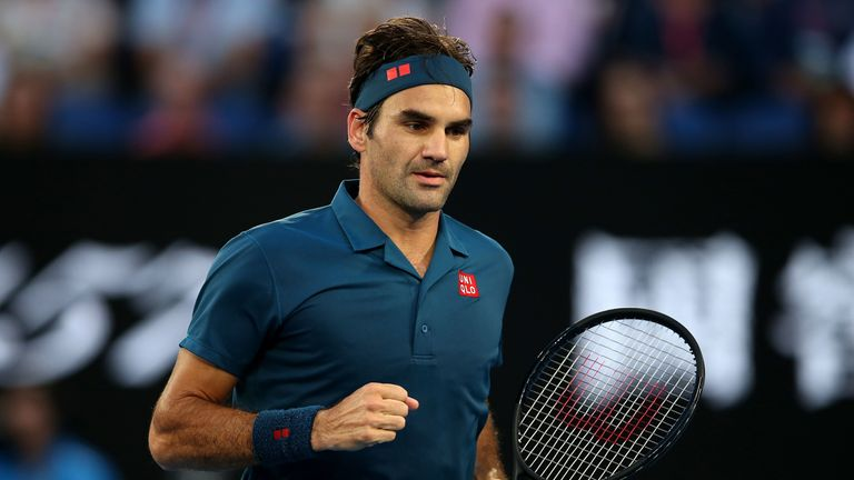 Federer saw four set points for a two sets to love lead saved by the Greek