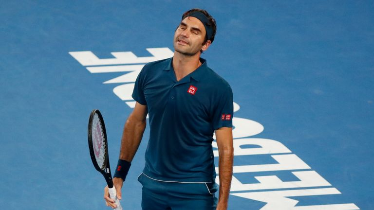 Federer failed to convert any of his 12 break points in the match