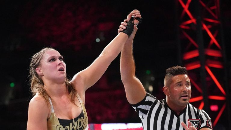 Ronda Rousey looks certain to face Becky Lynch at WrestleMania
