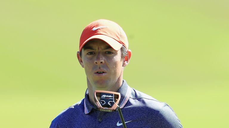 Rory McIlroy three off lead in Tournament of Champions