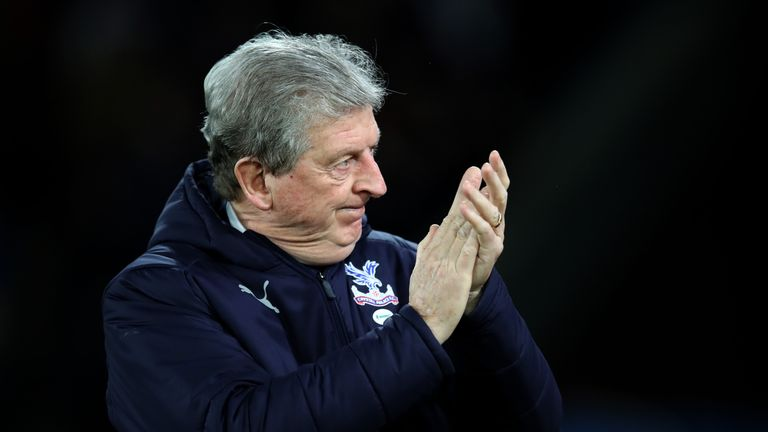Roy Hodgson is targeting a top-10 finish