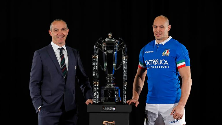Conor O'Shea and Sergio Parisse's Italy haven't won a Championship Test since 2015