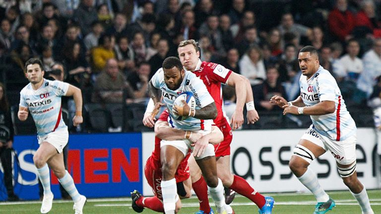 Racing 92 could be dangerous opponents during the knockout stages in Europe