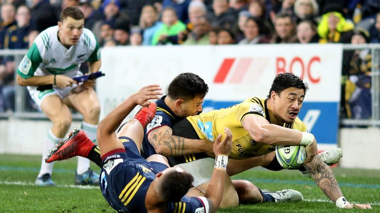 Hurricanes wing Ben Lam crossed for a competition-leading 16 tries last season
