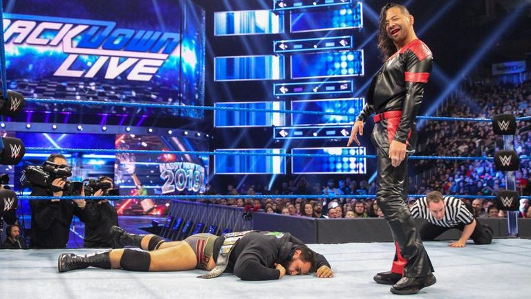 Shinsuke Nakamura exacted some revenge on Rusev after his United States title loss last week
