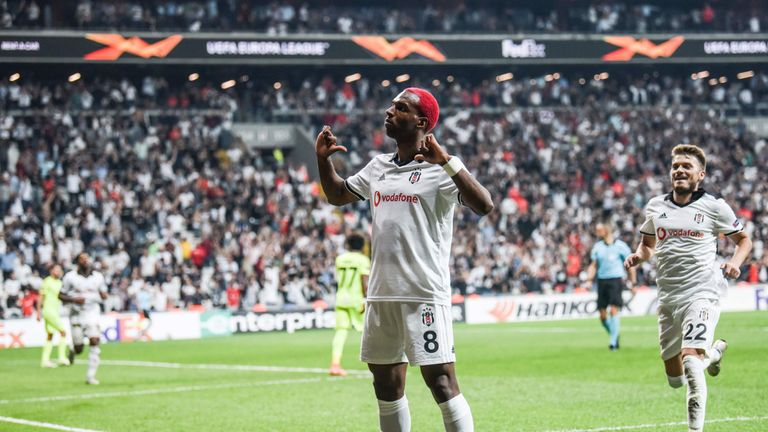 Babel celebrates scoring for Besiktas