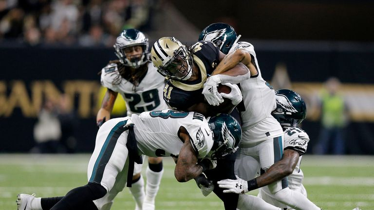 Highlights of the NFC Divisional Playoff between the Philadelphia Eagles and the New Orleans Saints