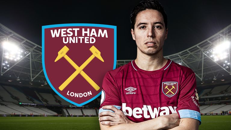 Samir Nasri has joined West Ham until the end of the season