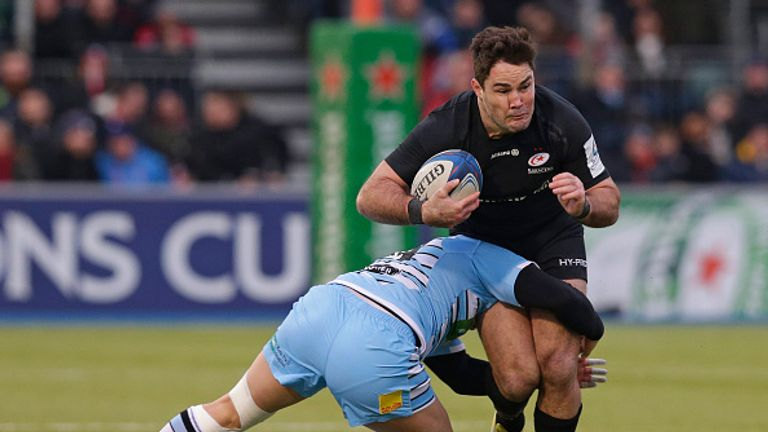 Saracens are the only English club to qualify for the Champions Cup quarter-finals