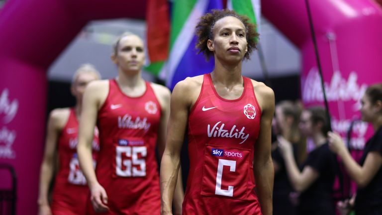 Serena Guthrie will captain England at the Netball World Cup