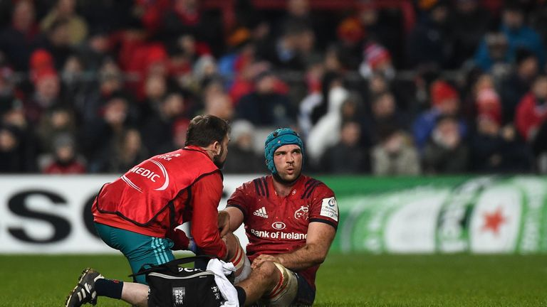 Beirne and Henderson injury blows for Ireland ahead of opener