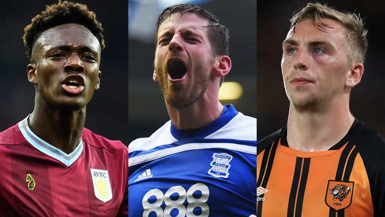 Tammy Abraham, Lukas Jutkiewicz and Jarrod Bowen have all made the WhoScored.com Championship Team of the Month for December