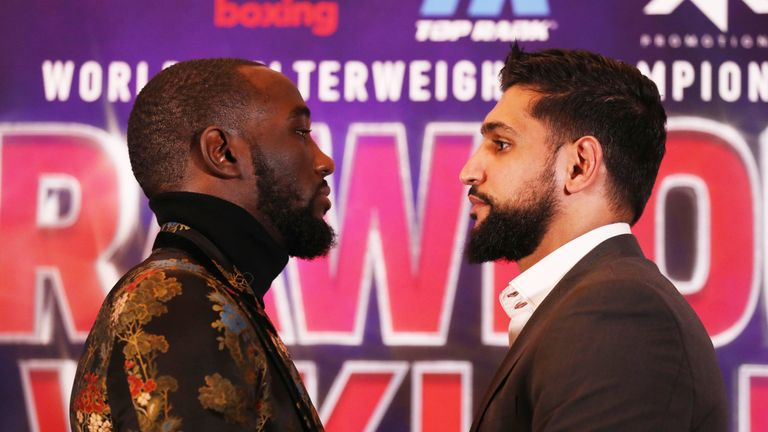 Crawford is recognised as one of the sport's elite fighters