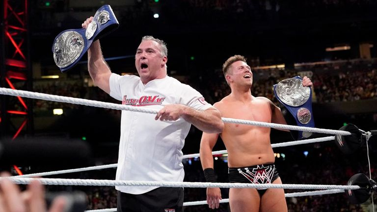 The Miz and Shane McMahon continue to style themselves as the best tag team in the world