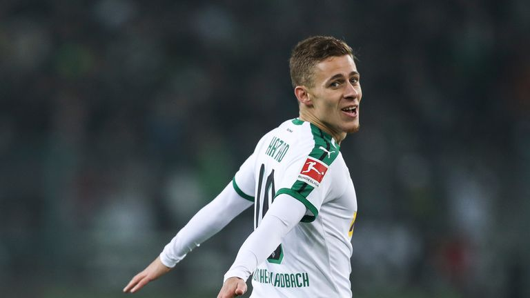 Thorgan Hazard has set his sights on joining Borussia Dortmund this summer