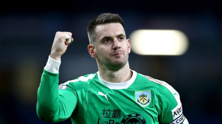 Heaton has deserved an England recall for his recent performances, says Dyche