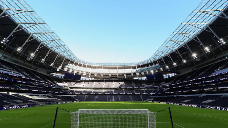 Tottenham's new stadium is still not ready for Premier League use