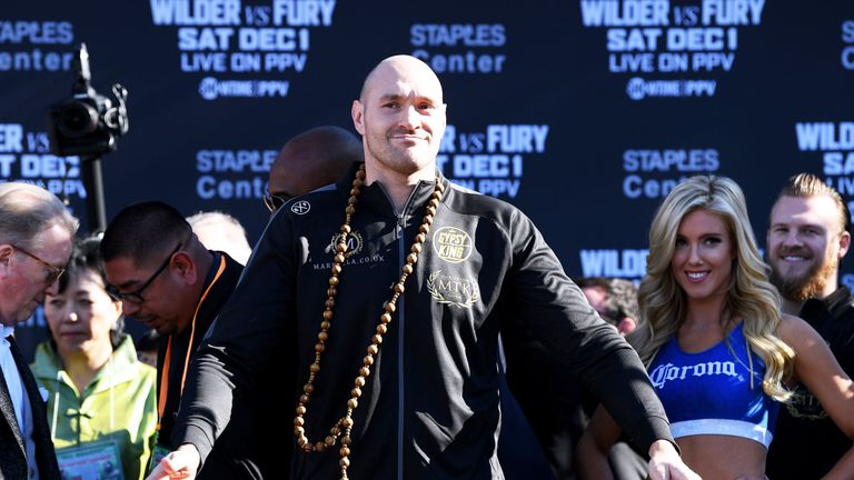 Tyson Fury returns against Tom Schwartz in June