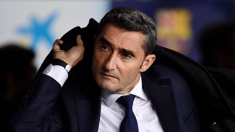Ernesto Valverde believes Atletico Madrid are Barcelona's closest challengers in the race for the La Liga title